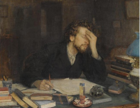 Leonid_Pasternak_- Writing